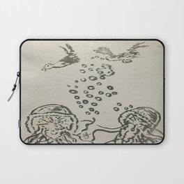 Laptop Sleeve - Under The Sea Sketch - ANoelleJay