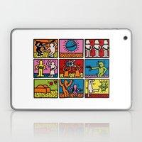 Haring - étoiles W. Laptop & iPad Skin