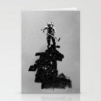 Negative Space Stationery Cards