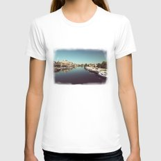 Auxerre Womens Fitted Tee White SMALL