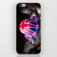 A Patriotic Boy iPhone & iPod Skin