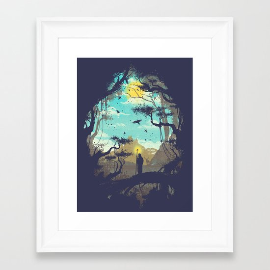 The Guardian Of The Sun Framed Art Print