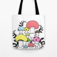 WELCOME TO MUSHROOM LAND… Tote Bag