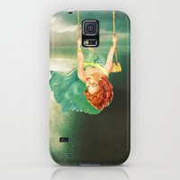 Galaxy S5 Cases featuring Hanging On by Eugenia Loli