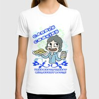 Carol's Cookies Womens Fitted Tee White SMALL