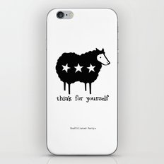 Think For Yourself iPhone & iPod Skin