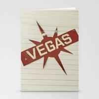 Vegas Stationery Cards