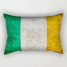 Flag of Ireland - Vintage retro style Rectangular Pillow