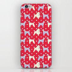 Oodles o' Polka Poodles iPhone & iPod Skin