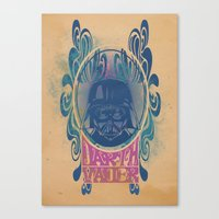 Psychedelic Vader Canvas Print