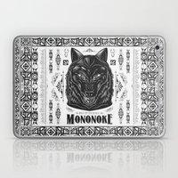 Mononoke Hime Wolf Pride… Laptop & iPad Skin