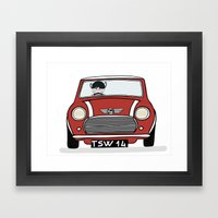 Mini I Love You Framed Art Print