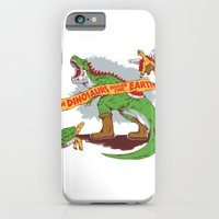 iPhone & iPod Case featuring When Dinosaurs ruled the earth by MeleeNinja