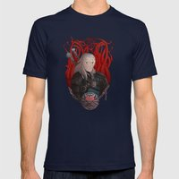 Geralt Mens Fitted Tee Navy SMALL