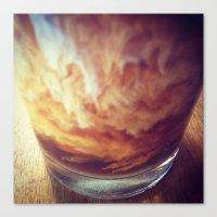 Coffee with Cream Canvas Print