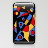 Abstract #115 iPhone & iPod Skin
