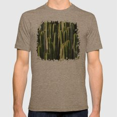Prickly Day Mens Fitted Tee Tri-Coffee SMALL