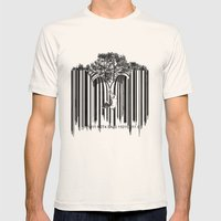 unzip the code. Mens Fitted Tee Natural SMALL