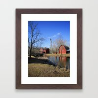 Bonneyville Mill Framed Art Print