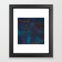 Viaje Al Espacio 2 Framed Art Print