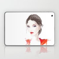 light blue eyes Laptop & iPad Skin