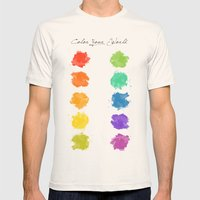 Color Your World Mens Fitted Tee Natural SMALL