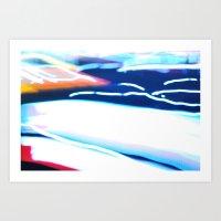 Velocity 101 Art Print