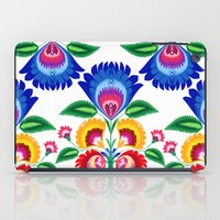 folk flower iPad Case