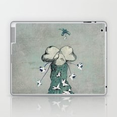 Origami's passion -  a collaboration between Christelle Guilhen and Gwenola de Muralt Laptop & iPad Skin