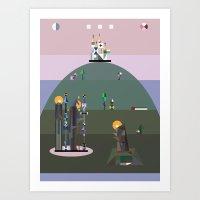 Bellflower Of The Northe… Art Print