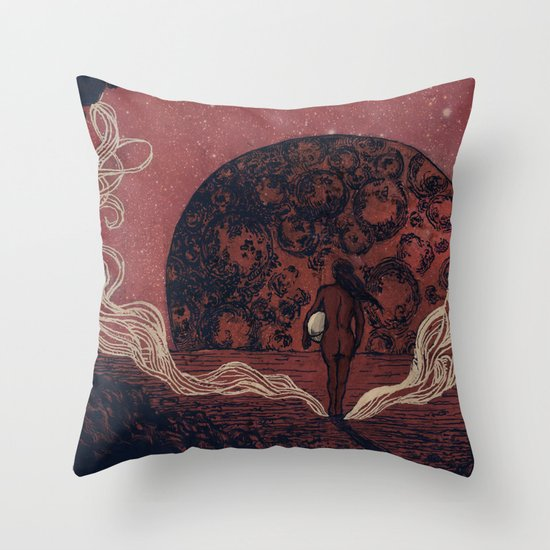 """After the Disco"" - Matthew Vidalis Throw Pillow"