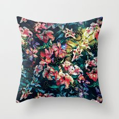 The night of the Snakes Throw Pillow
