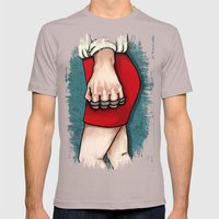 Knuckleduster Mens Fitted Tee Cinder SMALL