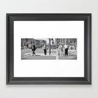 Kreuzung Framed Art Print
