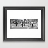Kreuzung Framed Art Print