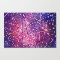 Fly Up to the Heavens (color) Canvas Print