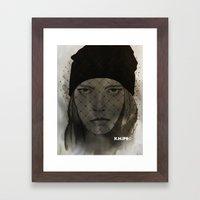 Mystery Girl Framed Art Print