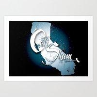 Cali Skum Logo Art Print