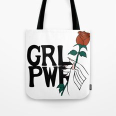GRL PWR Rose Tote Bag
