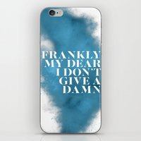 Frankly my dear iPhone & iPod Skin