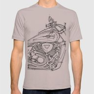 Suzuki VZR 1800 2011 Mens Fitted Tee Cinder SMALL