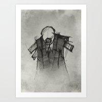 Wraith III. Art Print