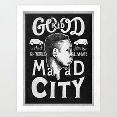 Good Kid Art Print