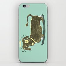 Bad Dog! (The Little Dachshund That Didn't) iPhone & iPod Skin