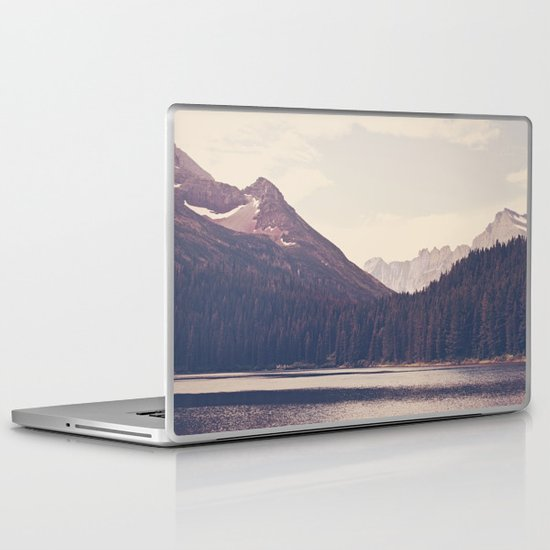 Morning Mountain Lake Laptop & iPad Skin