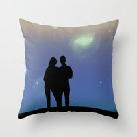 Eternity in an Evening Throw Pillow