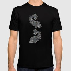 Versailles Mens Fitted Tee Black SMALL