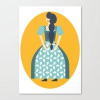 Gretel Canvas Print