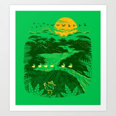 Apocalypse Now : Reducks Art Print