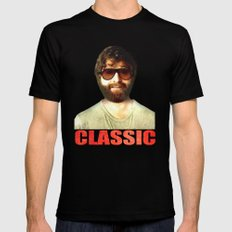 ALAN - The Hangover Black SMALL Mens Fitted Tee